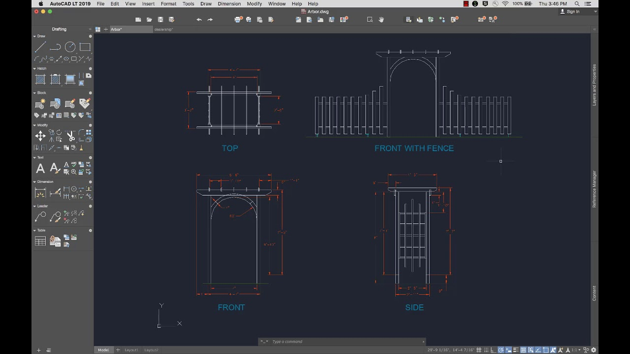 How much is a monthly subscription to AutoCAD LT 2019?