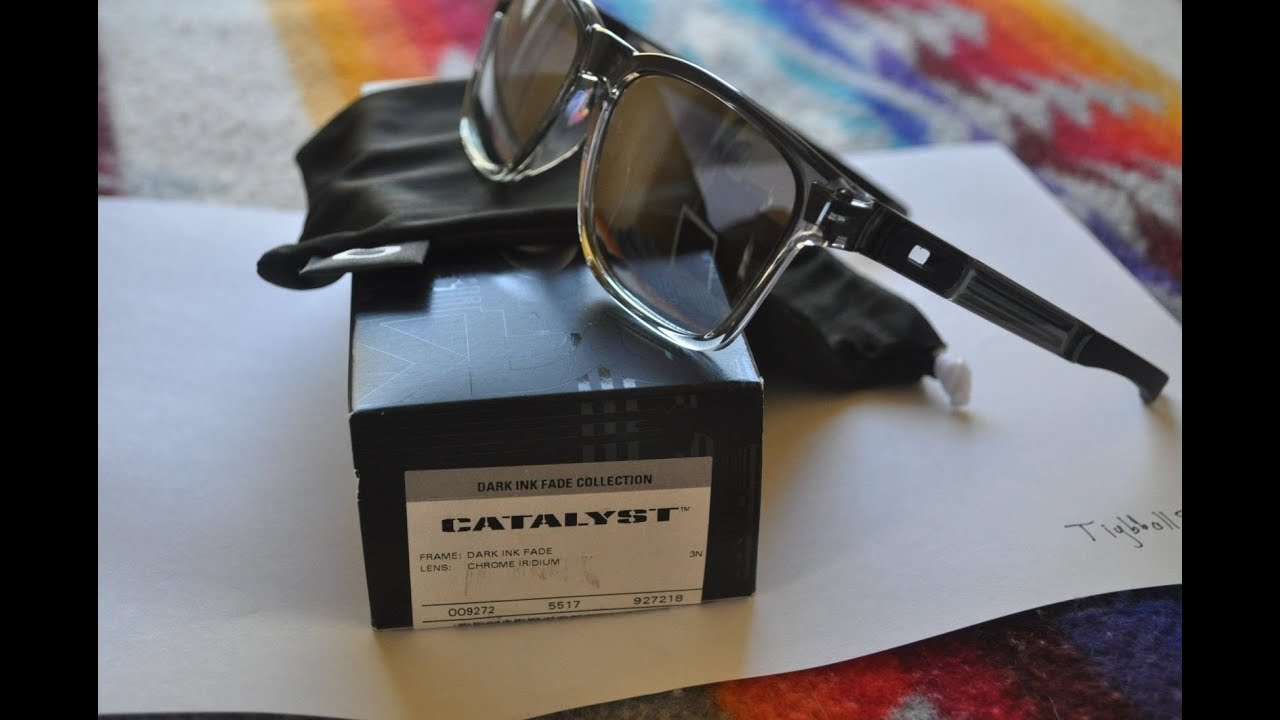 34be17b12ca Unboxing Oakley Catalyst Drak Ink Dafe - YouTube