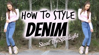 How to Style Denim Lookbook Thumbnail
