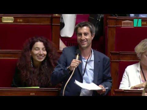 """François Ruffin a posé son """"énigme"""" 5 fois à l'Assemblée"""