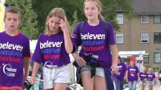 Honderd kinderen aan de start van de Kinderloop voor Hoop Kollumerland