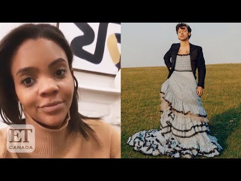 Candace Owens Bashes Harry Styles' Vogue Cover
