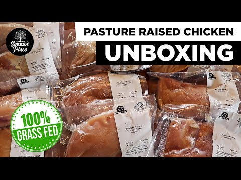 PASTURE RAISED CHICKEN From A Local Farm | UNBOXING The Best Of CHICKEN BOX From Fed From The Farm