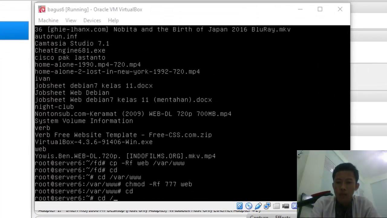 Cara Membuat DNS Server Dan WEB Server Bagus Part 2 - YouTube