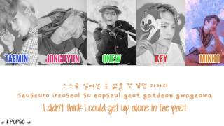 (Eng/Rom/Han/Color Coded) SHINee (샤이니) - An Ode To You (너의 노래가 되어)