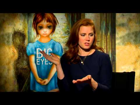 "Big Eyes: Amy Adams ""Margaret Keane"" Official Movie Interview"