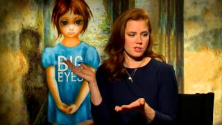 "Big Eyes: Amy Adams ""Margaret Keane"" Official Movie Interview"