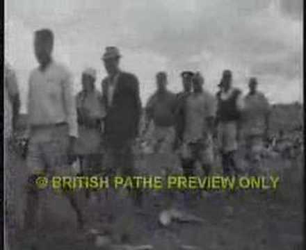 The mark of the Mau Mau - Kenya colony 1950s