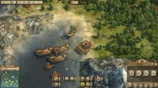 Anno 1404 Gameplay - Complete War against Guy Forcas [Medium|HD]