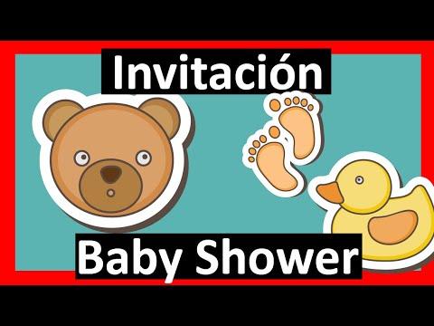 Video Invitación Baby Shower Whatsapp Digital