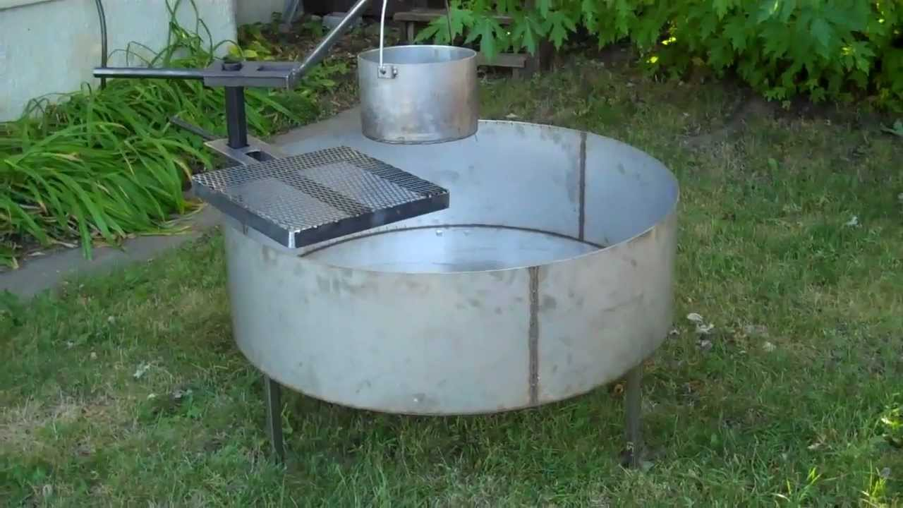 Higleyfirepits Com Stainless Steel Fire Pit Youtube
