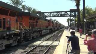 Fullerton Railroad Days Railfanning Trip Part 3 with the M-WATBAR, And More!!!