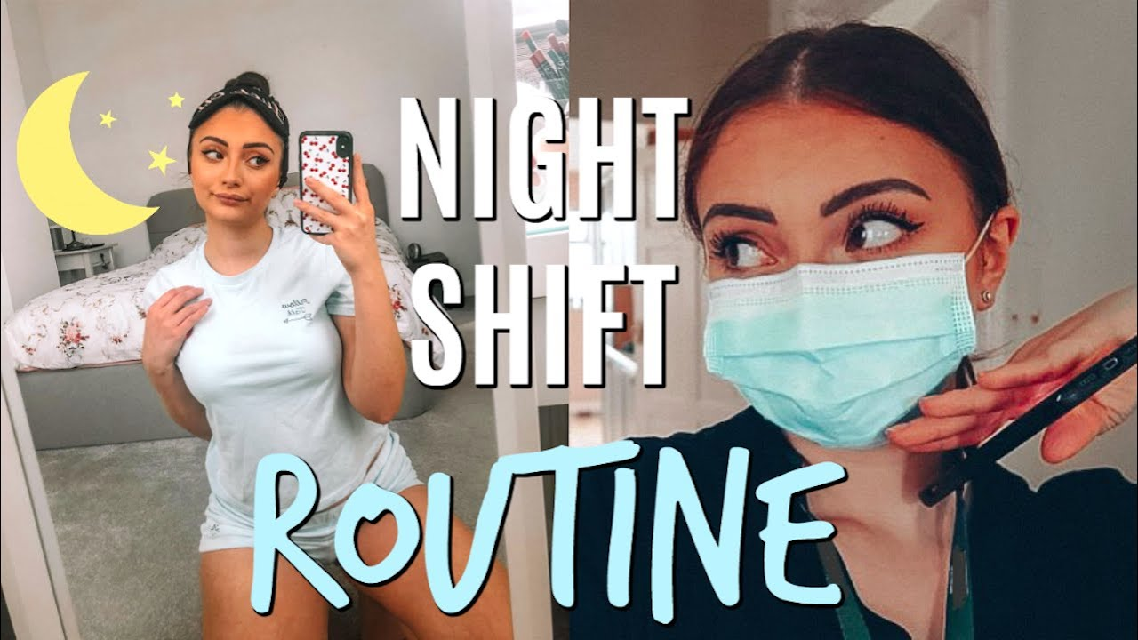 NIGHT SHIFT HEALTHCARE ASSISTANT ROUTINE | 24 hours in my life