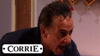 Dev Angrily Destroys Asha's Posters | Coronation Street