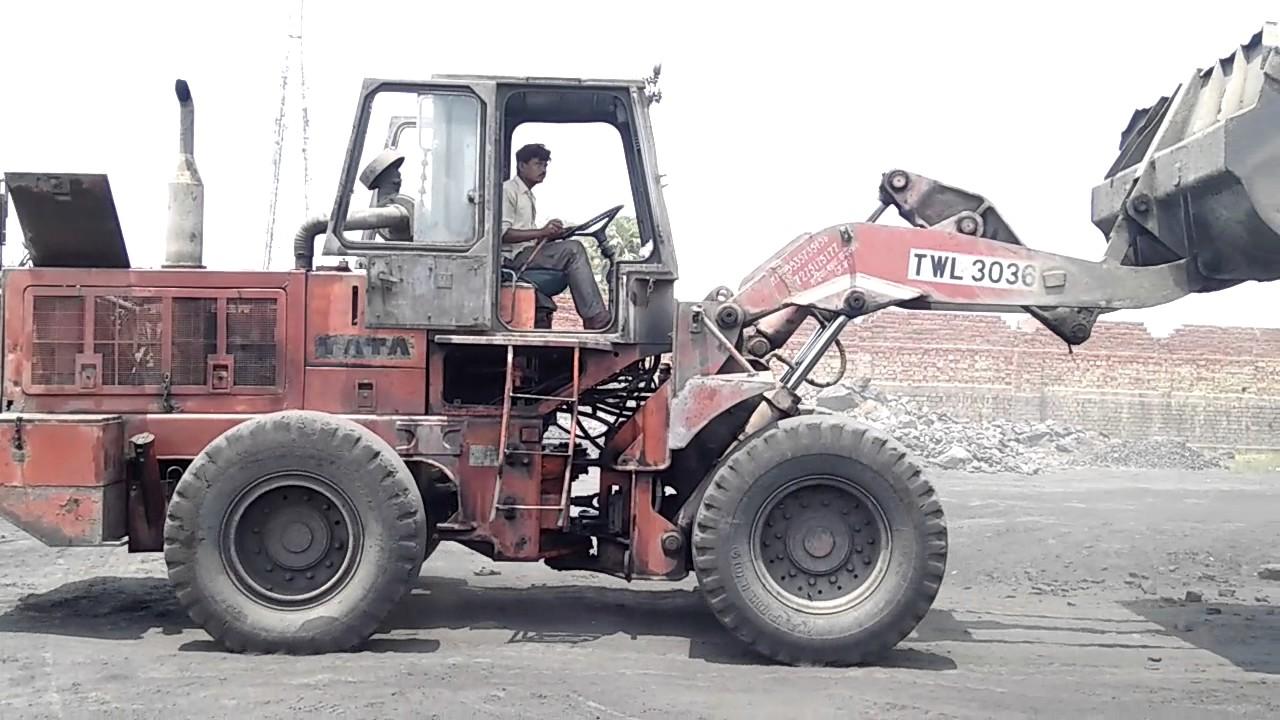 TATA 3036 Wheel loder - YouTube
