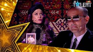 SHOCK: Esta ventrícula canta ÓPERA sin abrir la boca | Semifinal 03 | Got Talent España 2021