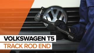 Remove Tie rod end VW - video tutorial