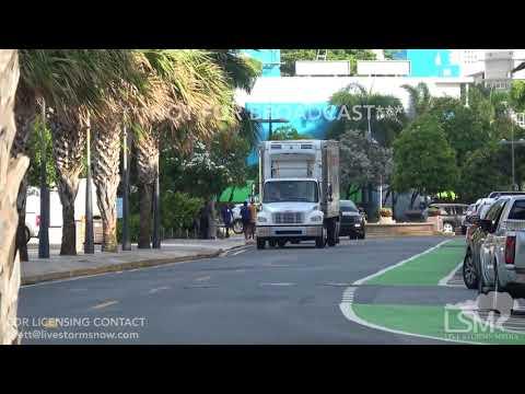 09/05/2017 - San Juan, Puerto Rico - Tourist enjoy weather as Hurricane Irma gets closer
