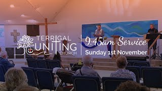 9:45am Service: Sunday 1st November