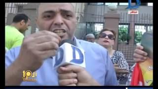 العاشرة مساء| بالفيديو شتائم للصحفيين والإعتداء على مراسلة العاشرة أثناء وقفة إحتجاجية ضد الصحفيين