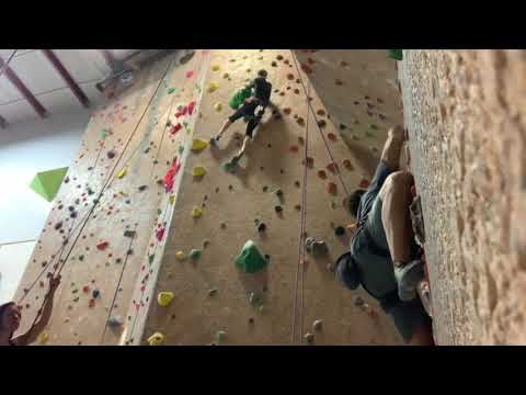 Rock Climbing at Rock'n and Jam'n 1 in Thornton, Colorado