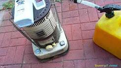 Secret to using Diesel in a Kerosene Heater