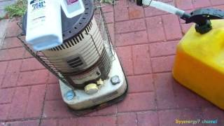 Secret to using Diesel in a Kerosene Heater