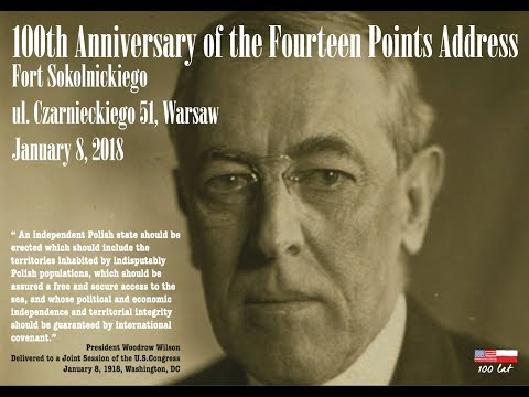 100th Anniversary of the Fourteen Points Address