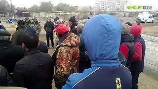 Строители дороги Балыкчы - Корумду готовы выйти на митинг. Третий месяц без зарплаты