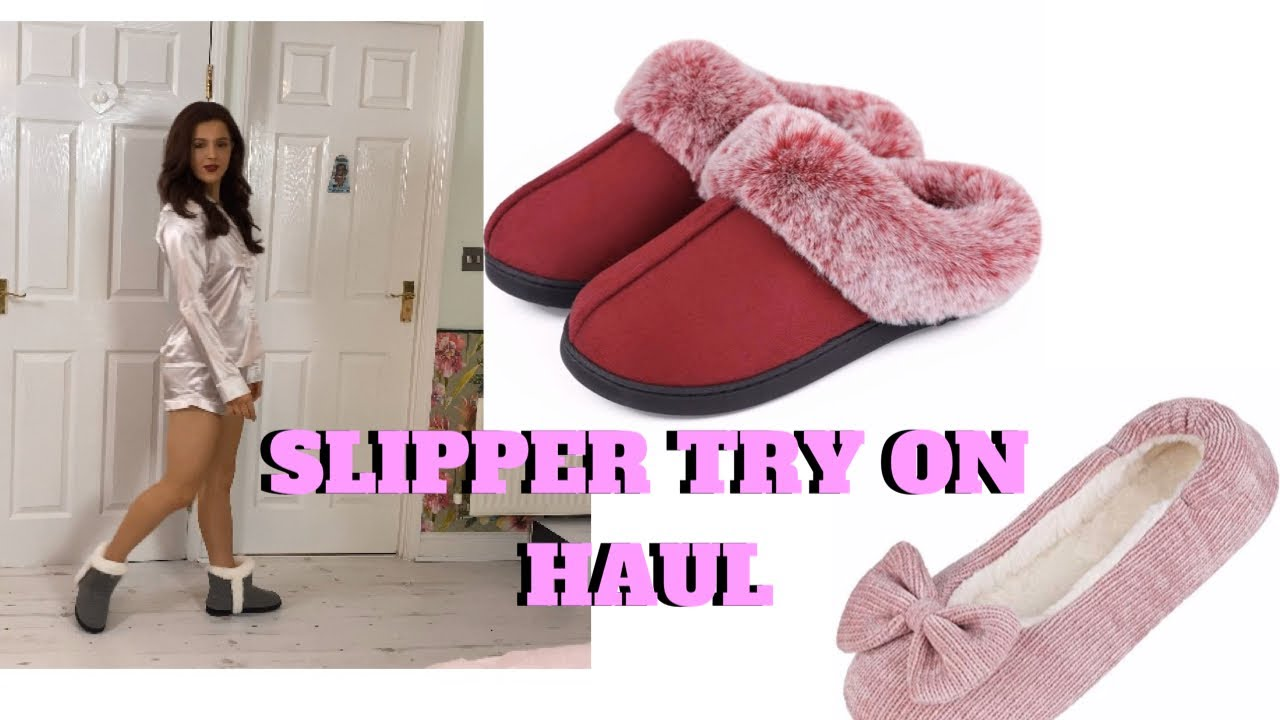 Slippers Try on Review in collaboration with Vera Cosy Emily Monks