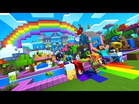 Minecraft World of Color Update trailer