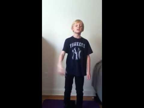 Jackson doing Eminem  Mockingbird