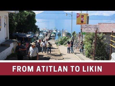 WE ARE LEAVING LAKE ATITLAN TO GO TO LIKIN   GUATEMALA VLOG 8
