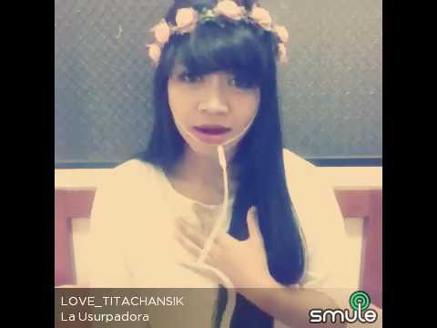 La usurpadora indonesia version (ost.cinta paulina) cover by tita