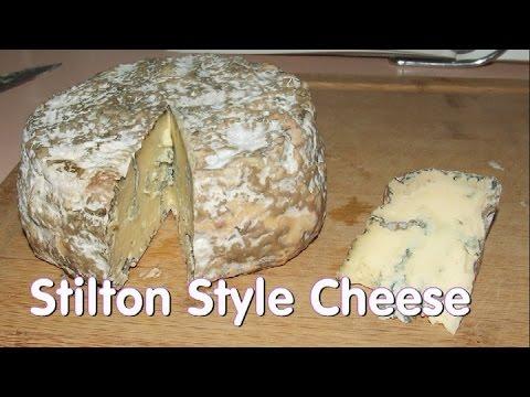 Making Stilton (Blue) Cheese
