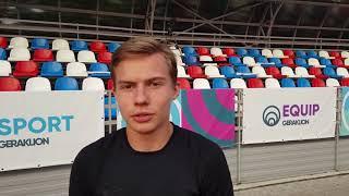 Денис Занкин - двукратный победитель Гераклиады2018 в беге 100 и 200 м продвинутые атлеты
