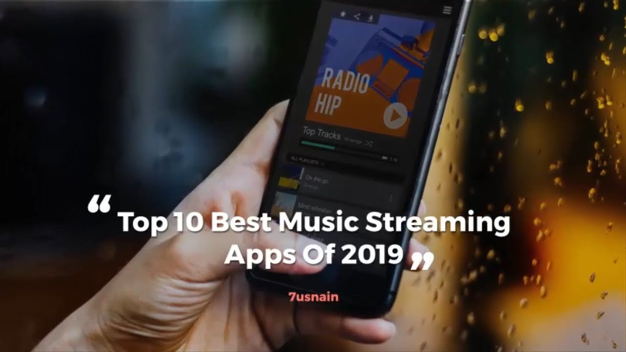 most popular streaming audio apps