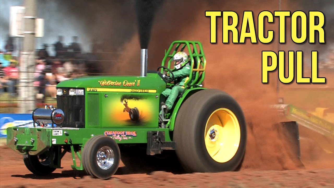 Jumbo Tractor Tow : Aussie tractor pull youtube