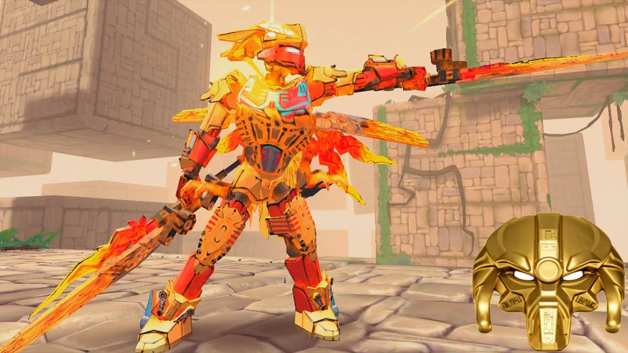 Lego Bionicle Mask Of Control The Mask Maker Lego Games Youtube