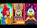 Angry Birds Rio vs SpongeBob's Game Frenzy vs Cut The Rope Magic Android Gameplay