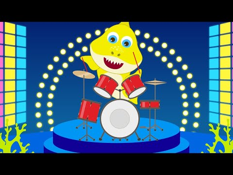 Baby Shark Finger Family Disco Version | Learn Music and Dance with Baby Shark Nursery Rhymes