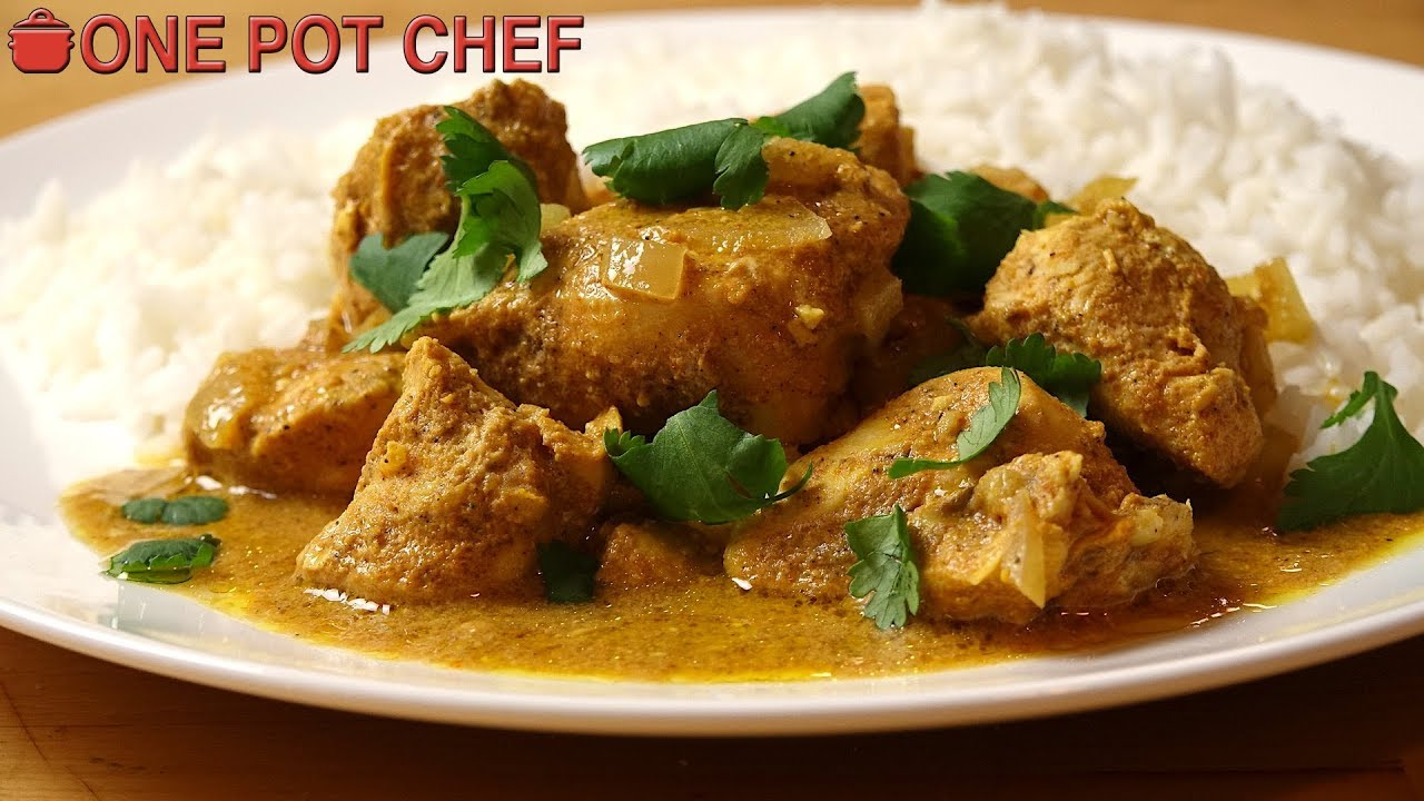 Easy Slow Cooker Butter Chicken One Pot Chef