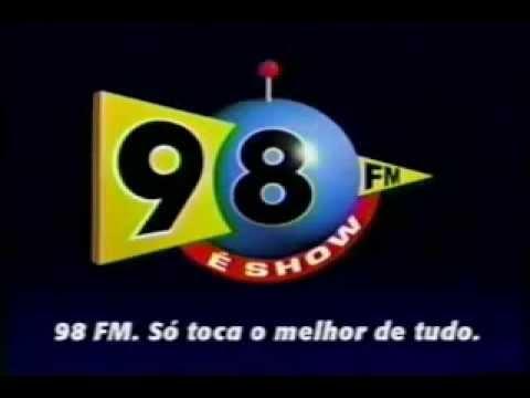 Rádio 98 FM Rio De Janeiro 98,1 Mhz - É Muito Show !!