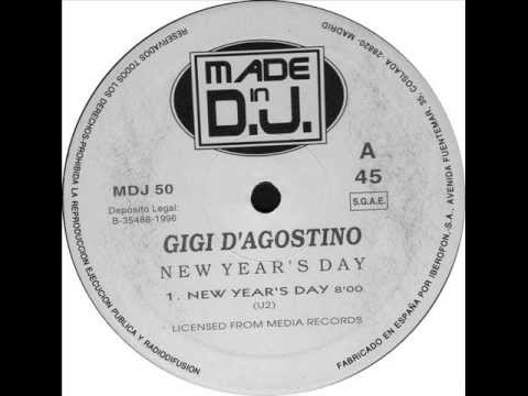 Gigi DAgostino ‎ New Years Day