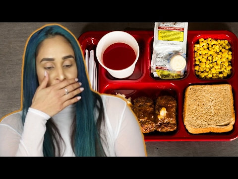 People Try Prison Meals