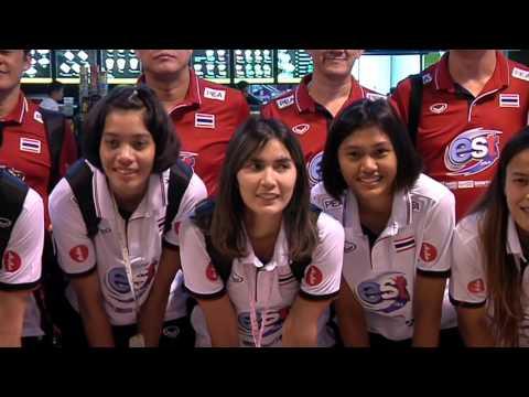 นักวอลเลย์บอลหญิงทีมชาติไทยเดินทางกลับจากเวียดนาม หลังจบเอวีซีคัพ 2016