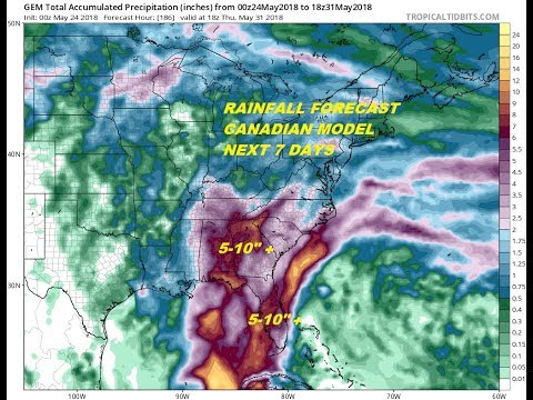 Tropical Depression or Tropical Storm Likely Gulf of Mexico Memorial Day Holiday Weekend