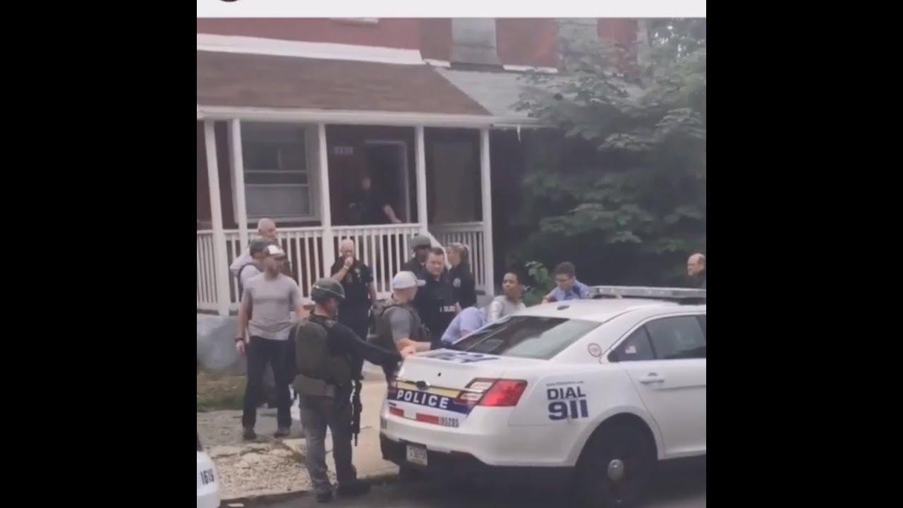 Skinny Me (OBH) Arrested, Being Framed In Philadelphia For Murder (2018 Video)