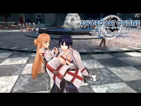 Sword Art Online: Hollow Realization - Save this World Trailer | PS4, Vita