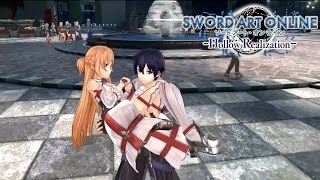 Repeat youtube video Sword Art Online: Hollow Realization - Save this World Trailer   PS4, Vita